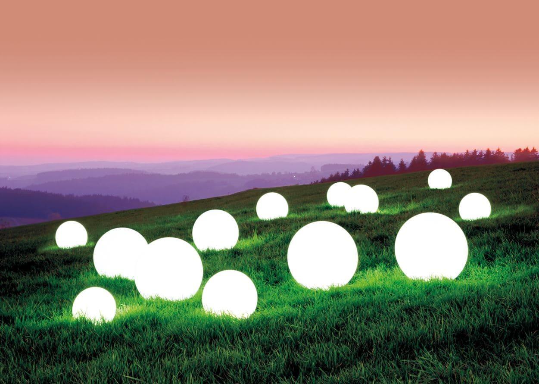 ausgefallene beleuchtung garten kugellampen wasserfest - Kugelleuchten & Kugellampen für den Garten Gartenkugeln Leuchtkugeln mit LED