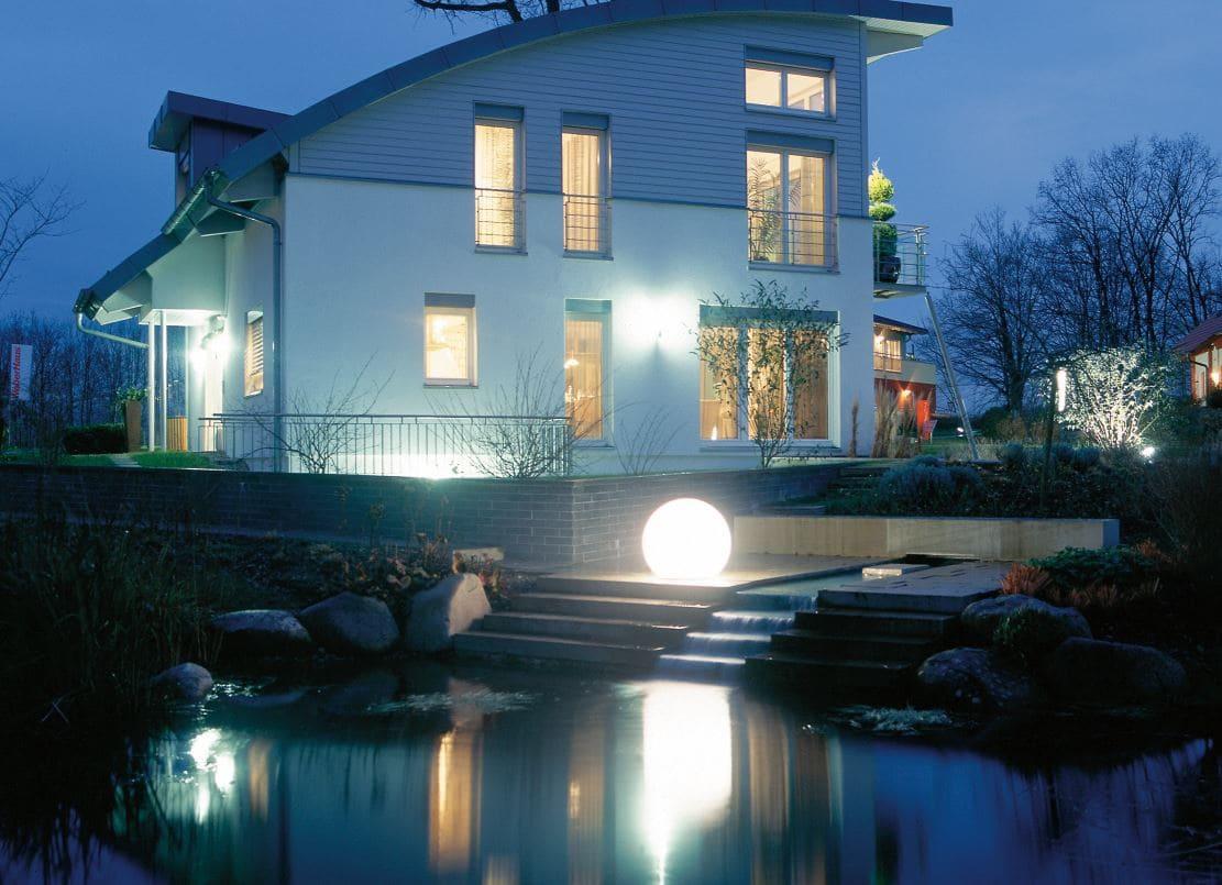 ausgefallene gartenbeleuchtung hausbeleuchtung - Kugelleuchten & Kugellampen für den Garten Gartenkugeln Leuchtkugeln mit LED