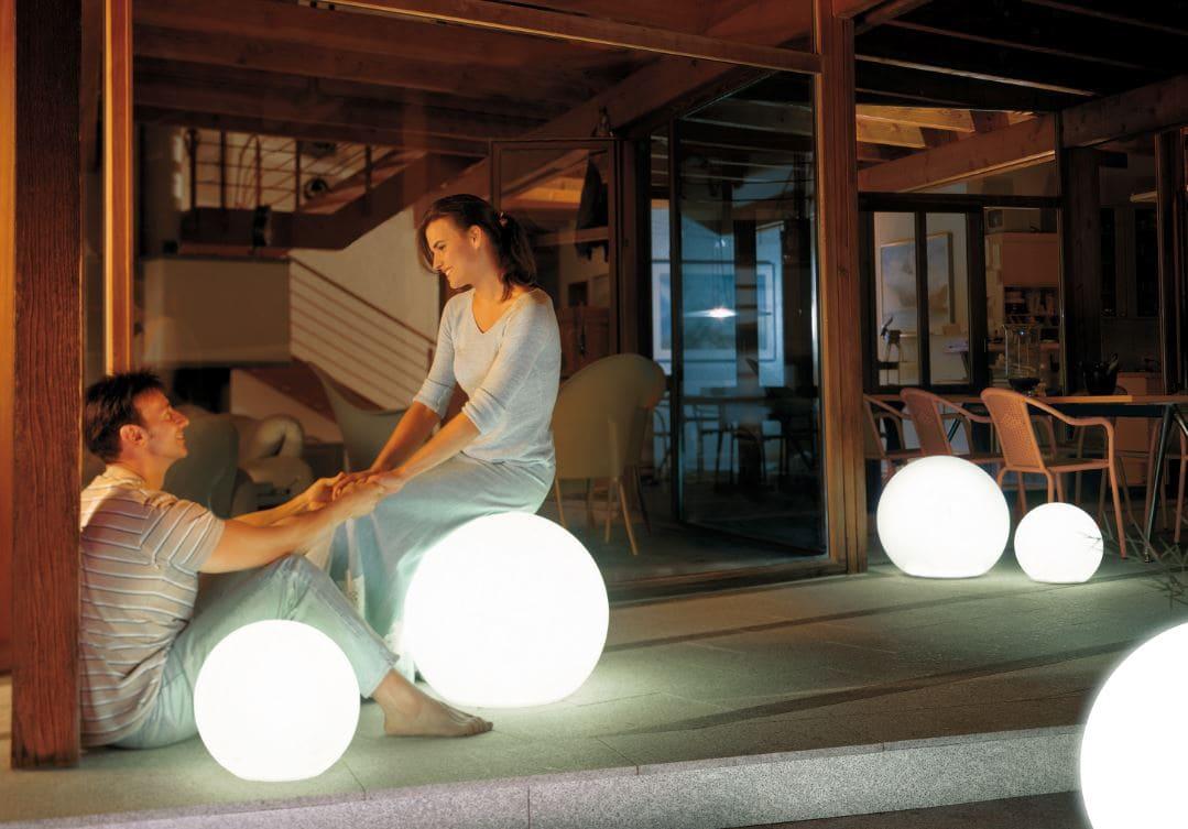beleuchtete kugeln indoor Bodenkugel - Kugelleuchten & Kugellampen für den Garten Gartenkugeln Leuchtkugeln mit LED