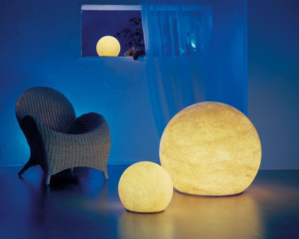 bodenkugel beleuchtet weiss - Kugelleuchten & Kugellampen für den Garten Gartenkugeln Leuchtkugeln mit LED