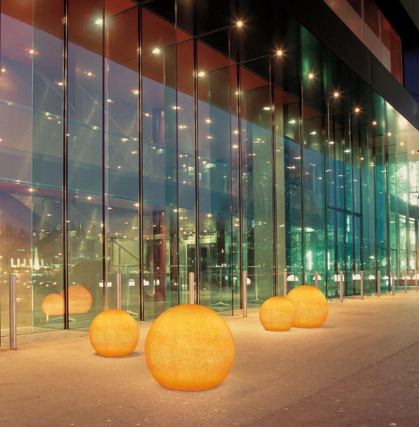 eingangsbeleuchtung hotelbeleuchtung leuchtkugeln - Kugelleuchten & Kugellampen für den Garten Gartenkugeln Leuchtkugeln mit LED