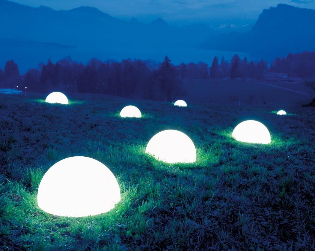 halbkugel gartenkugel beleuchtet - Kugelleuchten & Kugellampen für den Garten Gartenkugeln Leuchtkugeln mit LED
