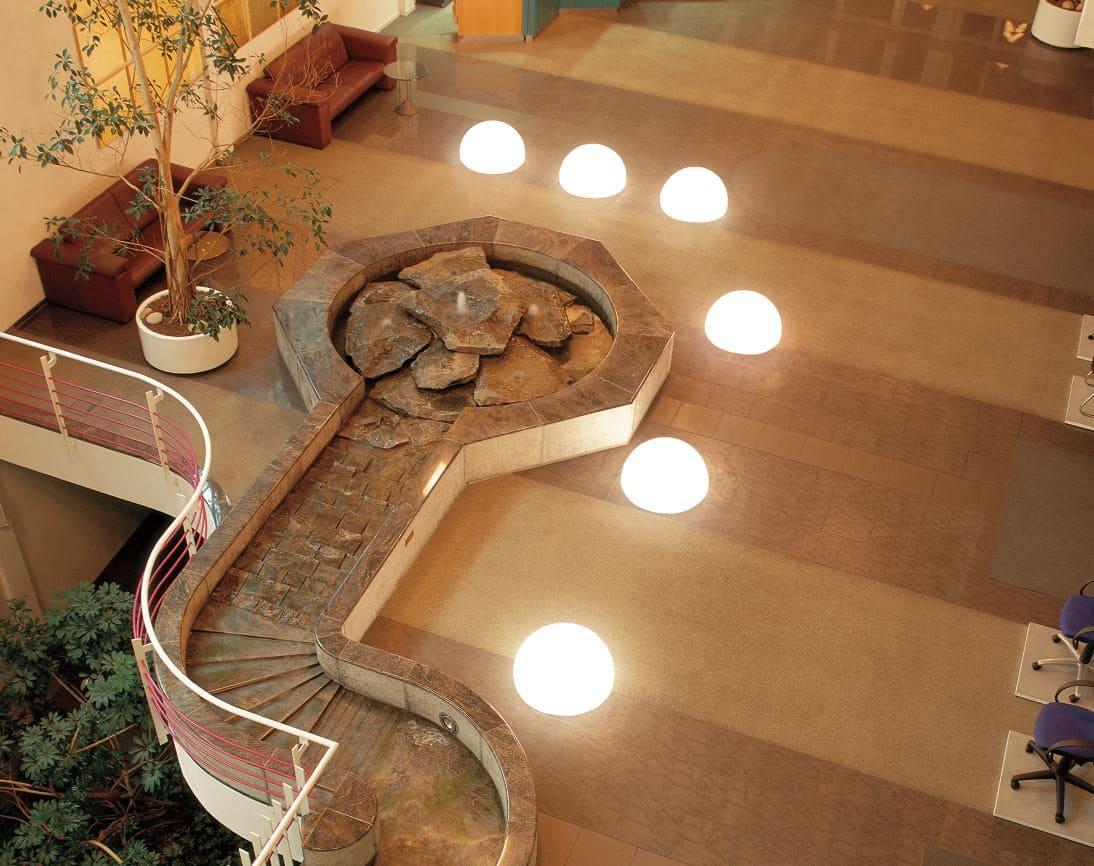 halbkugeln beleuchtet bodenkugeln halbrund - Kugelleuchten & Kugellampen für den Garten Gartenkugeln Leuchtkugeln mit LED