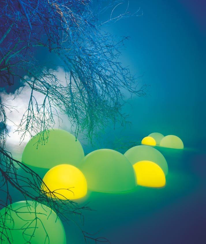leuchtende kugeln outdoor - Kugelleuchten & Kugellampen für den Garten Gartenkugeln Leuchtkugeln mit LED