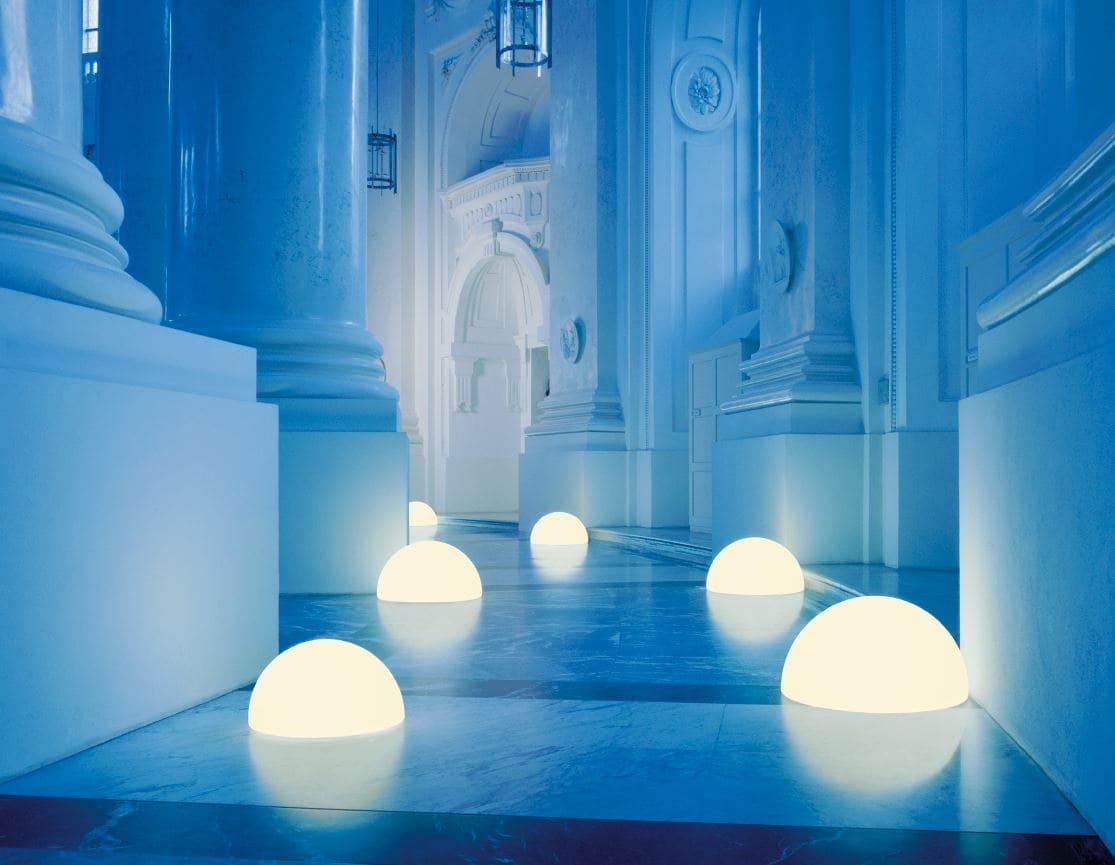 luxus leuchtkugeln halbrund kugellampen - Kugelleuchten & Kugellampen für den Garten Gartenkugeln Leuchtkugeln mit LED
