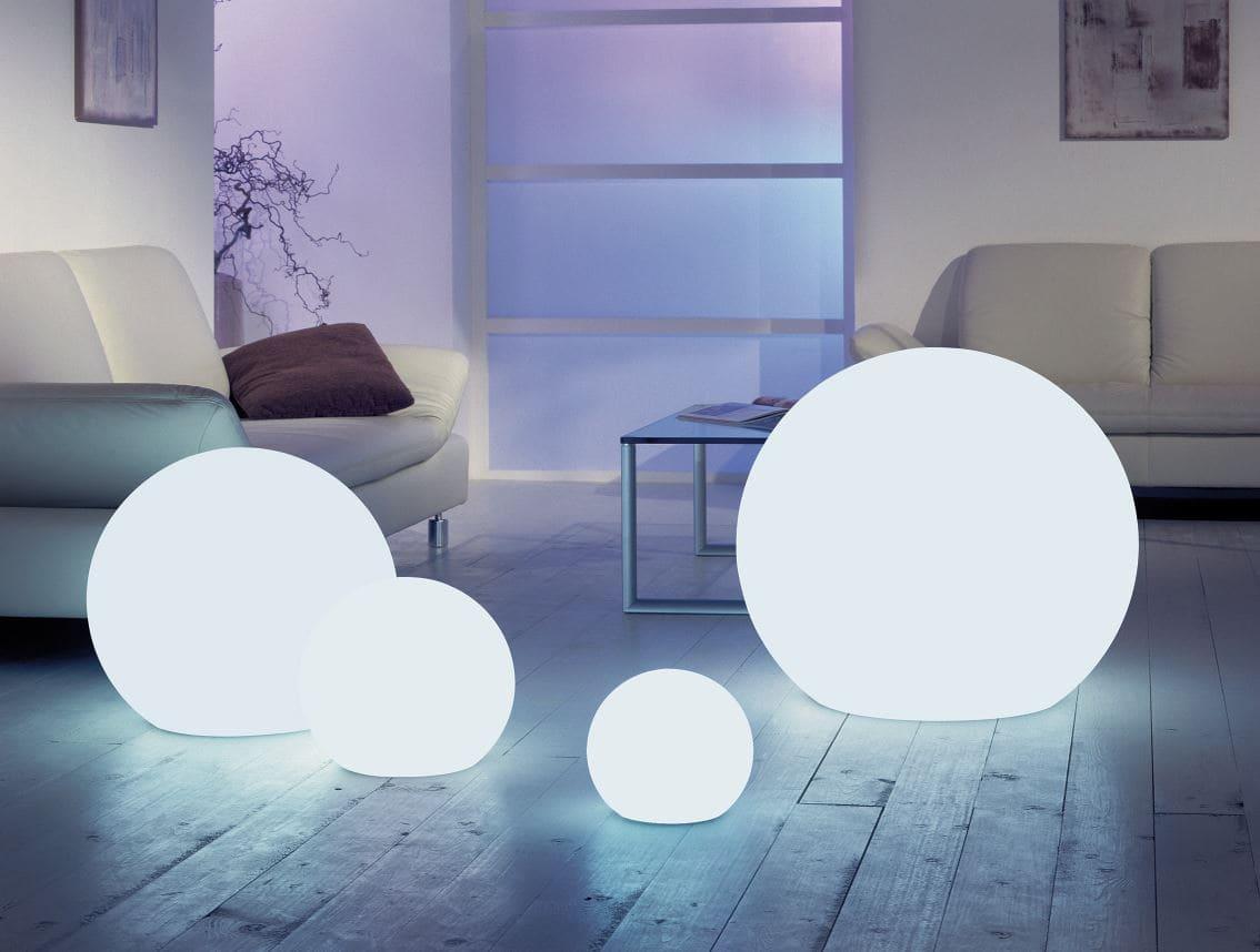 moderne beleuchtung wohnzimmer kugeln weiss - Kugelleuchten & Kugellampen für den Garten Gartenkugeln Leuchtkugeln mit LED