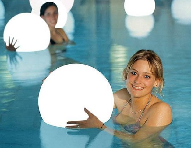 schwimmkugeln - Kugelleuchten & Kugellampen für den Garten Gartenkugeln Leuchtkugeln mit LED