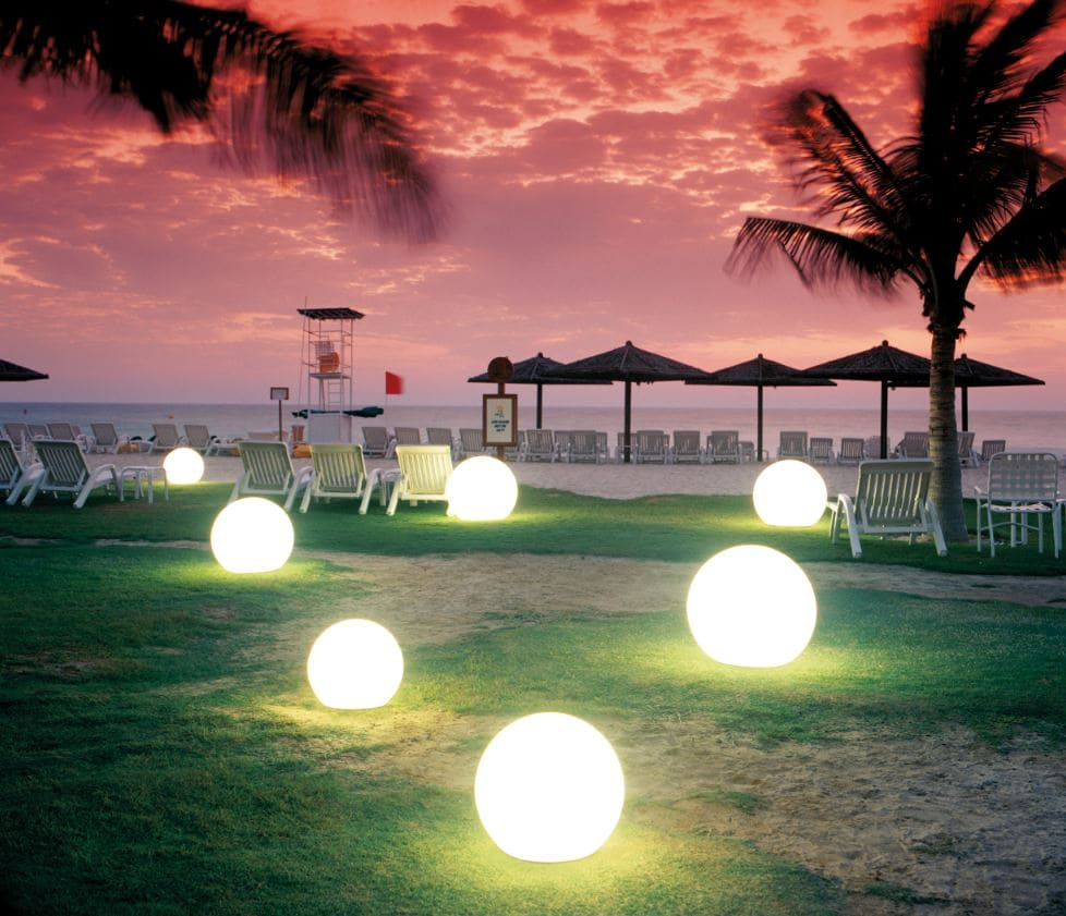 strandkugeln beleuchtete kugeln outdoor hochwertig - Kugelleuchten & Kugellampen für den Garten Gartenkugeln Leuchtkugeln mit LED