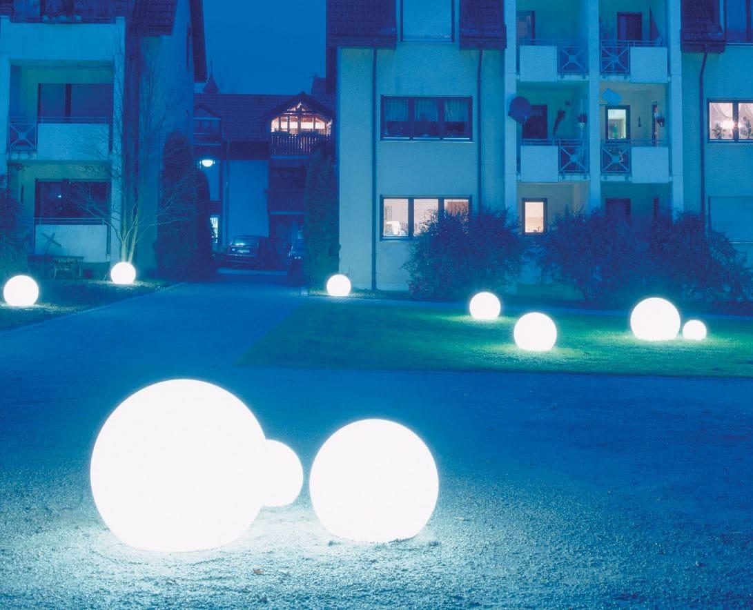 wasserfeste kugeln garten beleuchtung - Kugelleuchten & Kugellampen für den Garten Gartenkugeln Leuchtkugeln mit LED