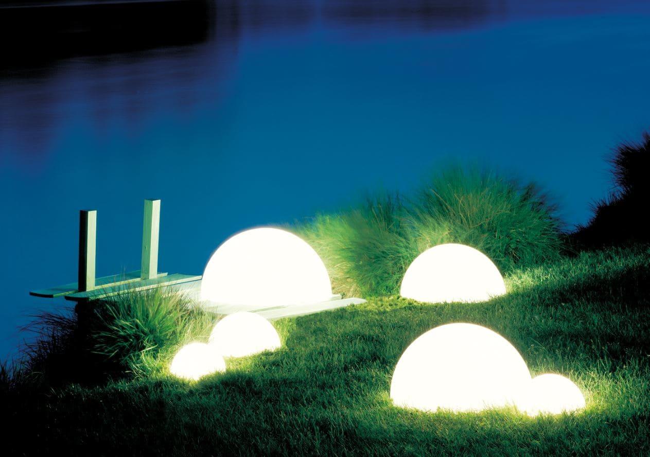 weisse kugeln beleuchtet biotop beleuchtung - Kugelleuchten & Kugellampen für den Garten Gartenkugeln Leuchtkugeln mit LED
