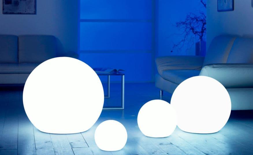 wohnzimmer beleuchtung kugel - Kugelleuchten & Kugellampen für den Garten Gartenkugeln Leuchtkugeln mit LED