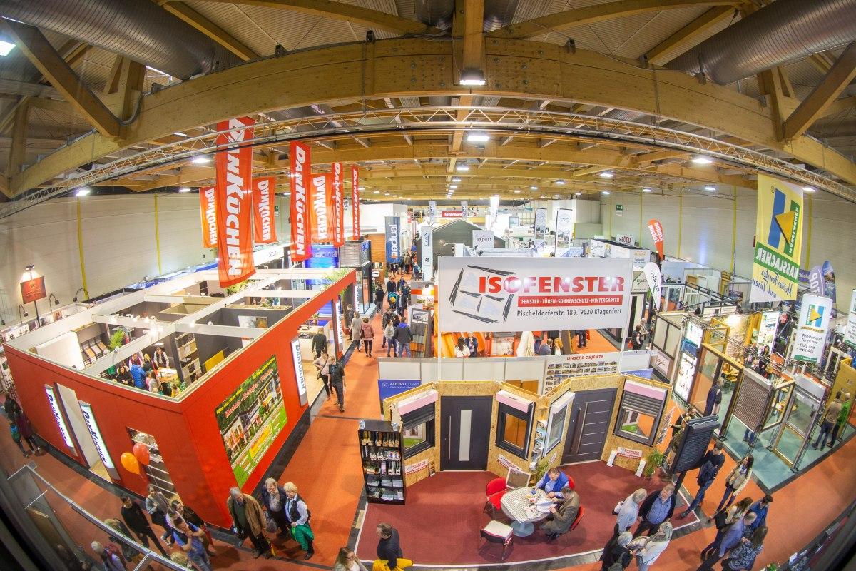 AZ7V8172 - Häuslbauermesse Klagenfurt zählte 24.000 Besucher