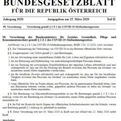 BUNDESGESETZBLATT Oesterreich 250x250 - BUNDESGESETZBLATT FÜR DIE REPUBLIK ÖSTERREICH