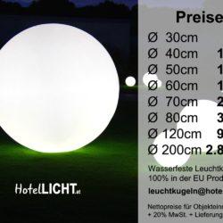 Kugelleuchten Terrasse Leuchtkugeln Garten Boden Preise 250x250 - Hochwertige Leuchtkugeln für den Garten | Terrasse | Objekteinrichtung