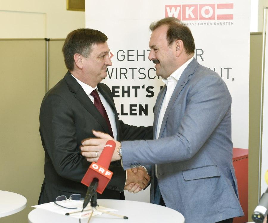WKWahl16 Wirtschaftskammer Kärnten - WK-Wahl Kärnten: Wirtschaftsbund mit Jürgen Mandl baut Mehrheit aus