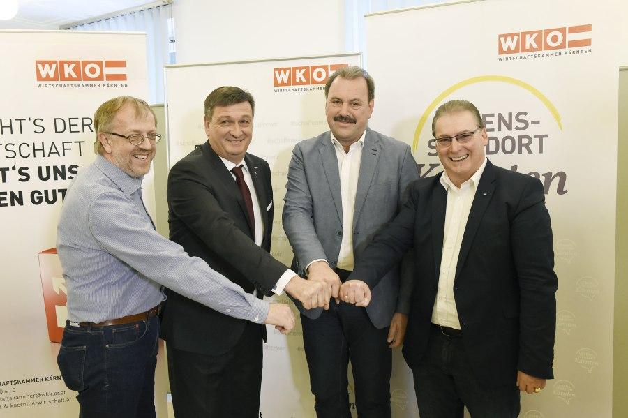 WKWahl46 Wirtschaftskammer Kärnten - WK-Wahl Kärnten: Wirtschaftsbund mit Jürgen Mandl baut Mehrheit aus
