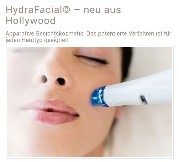 Apparative Gesichtskosmetik - laVital Kosmetik LASER Haarentfernung in Klagenfurt