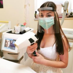 beste professionelle kosmetik gesichtschutz Maske Prexiglas