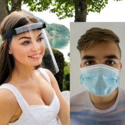 Schutzmaske Gesichtsschutz Visier