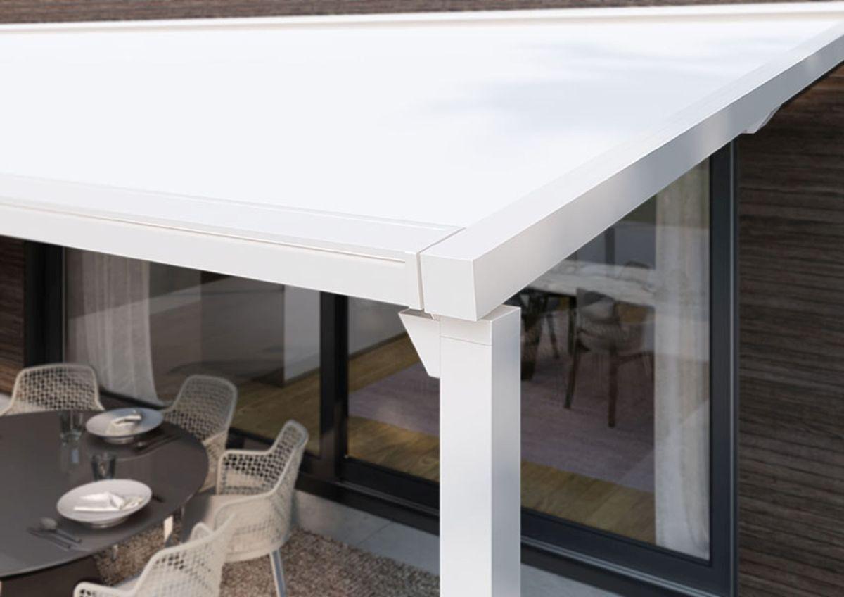 Pergola Markisen online kaufen - Pergola mit aufrollbarem Dach-Tuch mit minimalistischem Design