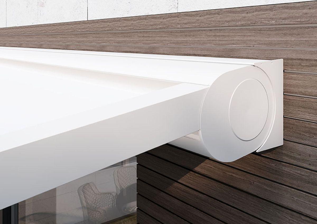 moderne Pergola Markisen - Pergola mit aufrollbarem Dach-Tuch mit minimalistischem Design