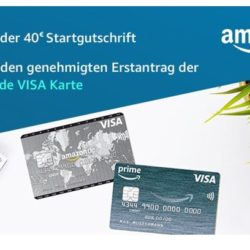 Amazon VISA 250x250 - 40 € Startgutschrift für ihre Amazon.de VISA Karte