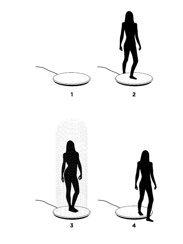 DUSCHE Viteo Shower - Design Gartendusche By Skydesign
