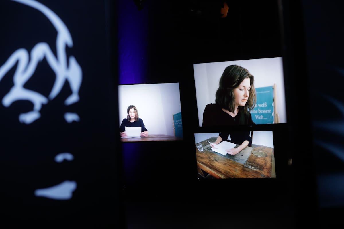 Ingeborg Bachmann Preis 2020 Laura Freudenthaler 3sat Preis © ORF Johannes Puch - Ingeborg-Bachmann-Preis 2020