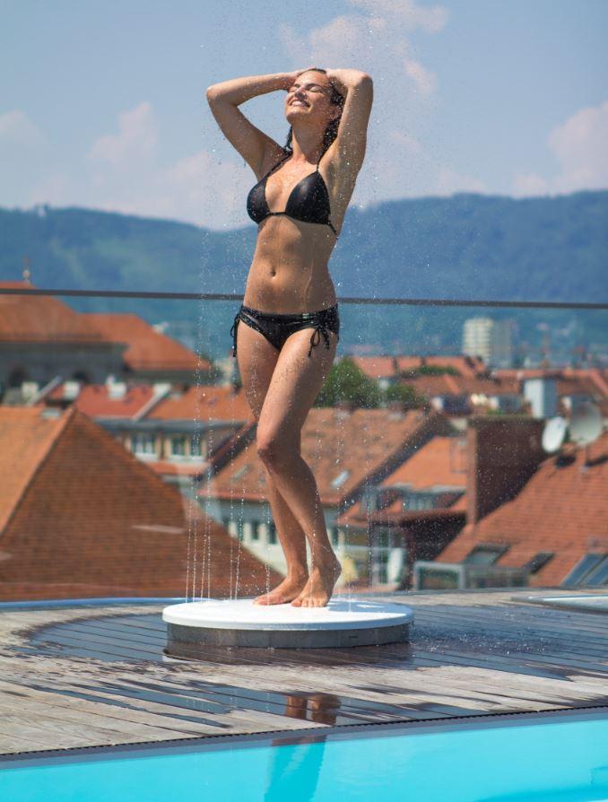 VITEO URBAN Shower 02 - Design Gartendusche By Skydesign