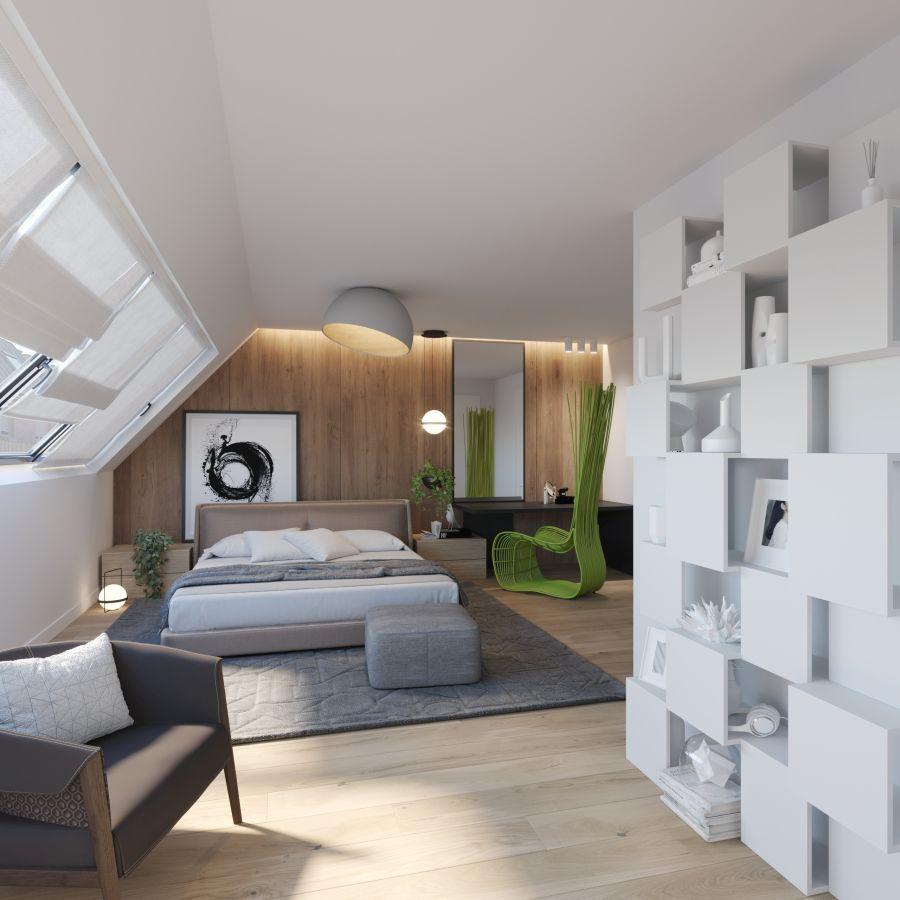 02 Visualkonzept Amerling Schlafzimmer Top6 U7 Immobilien Wien - Wohnung in Wien kaufen