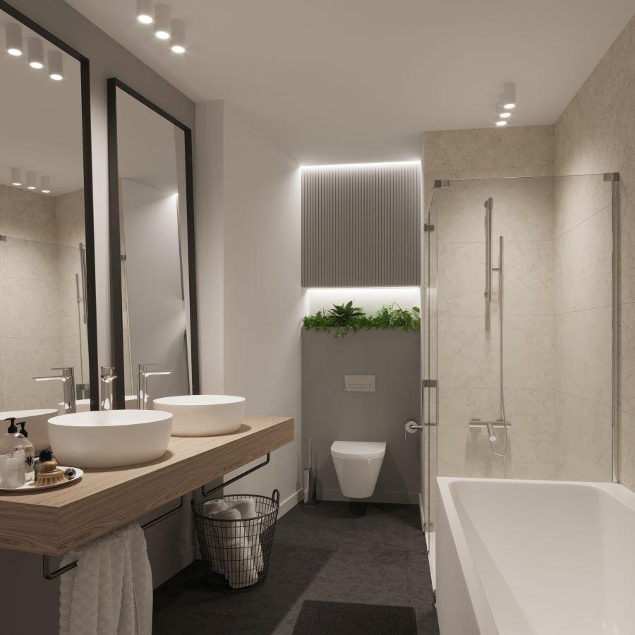 03 Visualkonzept Amerling Bad Top6 U8 Immobilien Wien - Wohnung in Wien kaufen