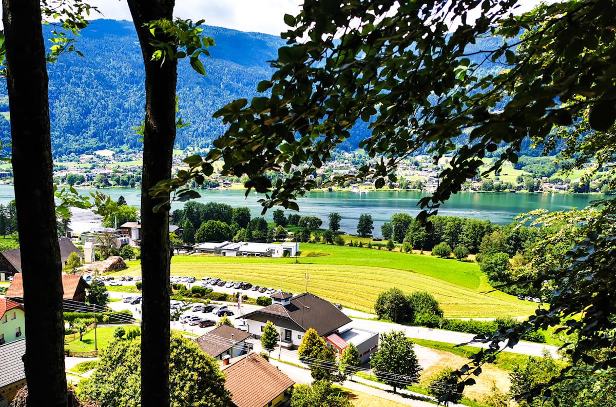 05 Kletterwald Ossiacher See - Kletterwald Ossiacher See   Ausflugsziele Kärnten / Österreich
