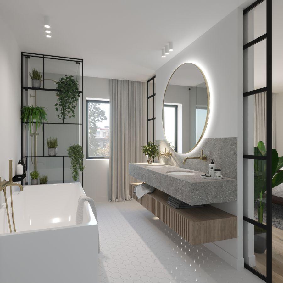 07 Visualkonzept Amerling Bad Top7 U4 Immobilien Wien - Wohnung in Wien kaufen