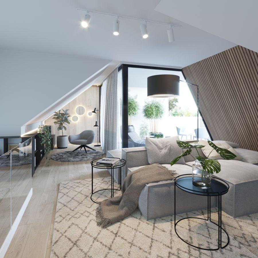 08 Visualkonzept Amerling Lounge Top10 U11 Immobilien Wien - Wohnung in Wien kaufen