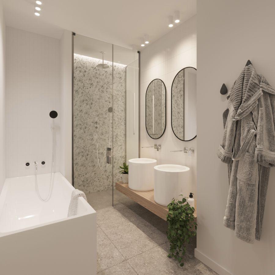 09 Visualkonzept Amerling Bad Top10 U10 Immobilien Wien - Wohnung in Wien kaufen