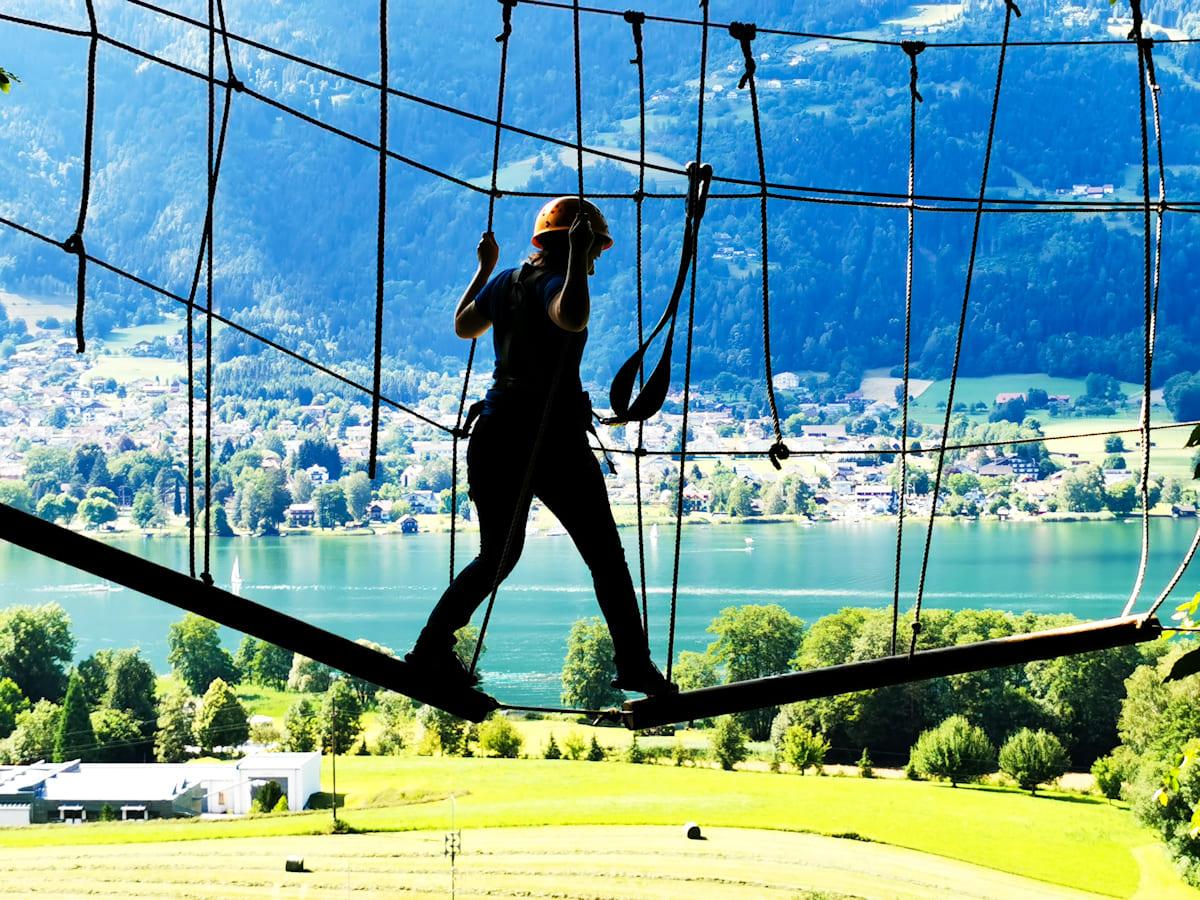 24 Kletterwald Ossiacher See - Kletterwald Ossiacher See   Ausflugsziele Kärnten / Österreich