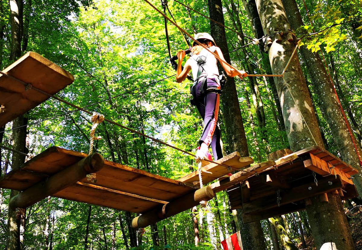 29 Kletterwald Ossiacher See - Kletterwald Ossiacher See   Ausflugsziele Kärnten / Österreich