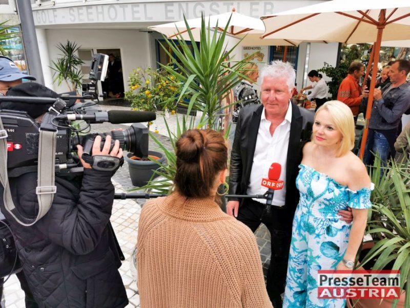 Ernst und Manuela Fischer in Velden am Wörthersee