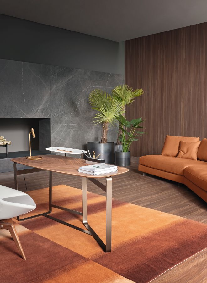 Moebel Bonaldo Gauss 01 Home Office - Moderne Büromöbel Home Office