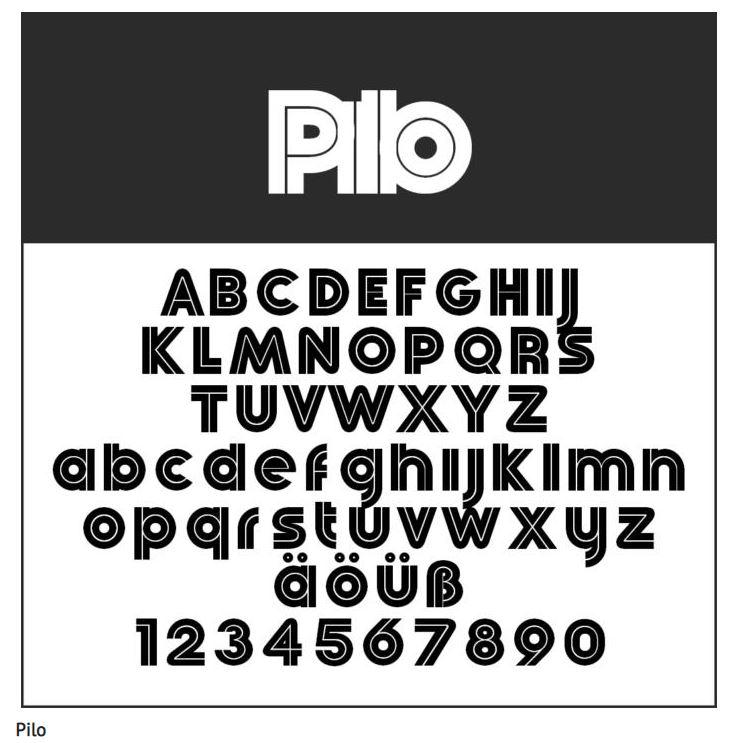 Schrift Pilo - Coole Schriftarten – unsere Top Ten zum Gratis-Download