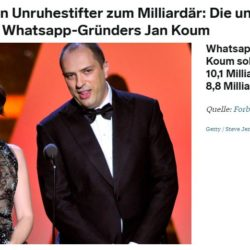 Jan Koum Whatsapp Biografie