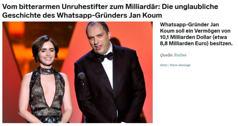 Jan Koum Whatsapp Biografie