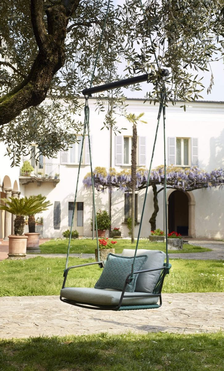 Haengesessel Garten Baum Lisa Swing 97375 - Schaukelstuhl - Hängestuhl als Schaukel - Stuhl als Schaukel